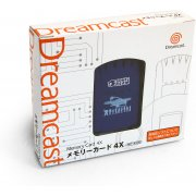 Dreamcast Visual Memory Card 4x VMS/VMU (Phantasy Star Online Design)