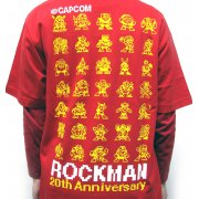20th Anniversary Rockman - Official Red T-Shirt (Size L)