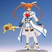 Magic Girl Lyrical Nanoha StrikerS Non Scale Pre-Painted PVC Figure: Figma Takamachi Nanoha