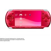 PSP PlayStation Portable Slim &amp; Lite - Radiant Red (PSP-3000RR)
