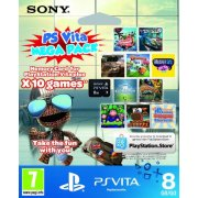Thumbnail for PS Vita Mega Pack (Includes 10 Games and 8GB Memory Card)