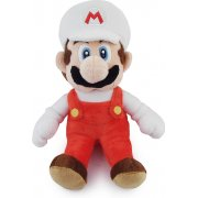 Super Mario Plush Series Plush Doll: Fire Mario (Small Size)