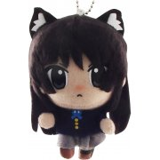 K-ON! Cat Ear Plush Doll: Akiyama Mio