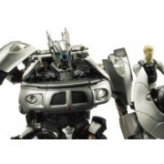 Transformers Movie Non Scale Pre-Painted Action Figure: RA-32 Autobot Jazz & Major William Lennox