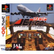 Jet de Go!: Let's Go By Airliner (JAL Printing)