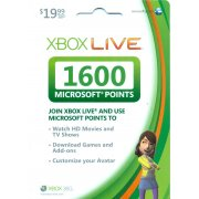 Xbox Live Points (1,600 points) 