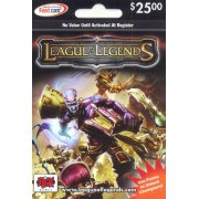 League of Legends Riot Point Card (US$ 25) 