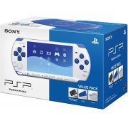 PSP PlayStation Portable Slim &amp; Lite - White/Blue (PSPJ-30018)