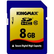 Kingmax SD Card 8GB Class 10