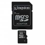 Kingston Micro SD Card 8GB Class 4
