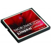 Kingston Ultimate Compact Flash Card 266X 16GB