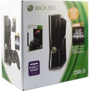 Xbox 360 Elite Slim Console (250GB) Forza Motorsport 3 & Alan Wake Bundle