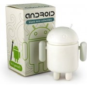 Google Android Non Scale Vinyl  Mini Collectible: Android  Do It Yourself (Blank) Ver.