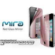 MIRA iPhone 4 Professional Screen Guard  (Red Glass Mirror)