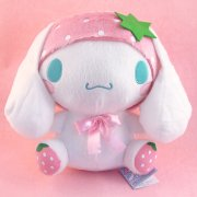 Cinnamoroll Fruits Plush Doll: Pink Strawberry Cinnamoroll
