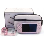 PSP PlayStation Portable Slim & Lite - Blossom Pink Value Pack for Girls (PSPJ-30019)