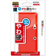 TPU Body Cover 3DS (clear red)