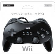 Wii Classic Controller Pro (Black) (Without Package)