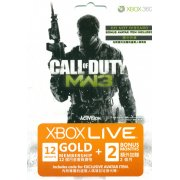Xbox Live 12-Month Subscription Gold Card + 2 Months Bonus (Call of Duty: Modern Warfare 3) 