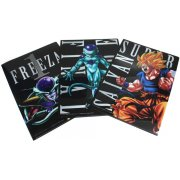 Dragon Ball Kai Ichiban Kuji Clear Files Set Asst 3