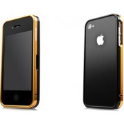 Alumor iPhone 4 / 4S  Bumper Frame (Gold & Black)