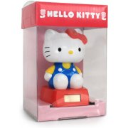 Hello Kitty Solar Power Dancing Mascot: Kitty Blue Ver.
