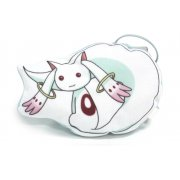 Puella Magi Madoka Magica Flat Plush Doll: Kyubey (B)