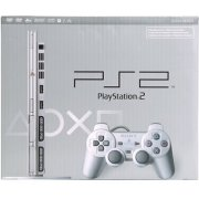 PlayStation2 Console Satin Silver (120V US NTSC Version)