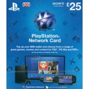 PlayStation Network Card (GB&amp;#163; 25 / for UK network only) 