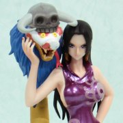 One Piece Figuarts Zero Non Scale Pre-Painted PVC Figure: Boa Hancock & Sarome