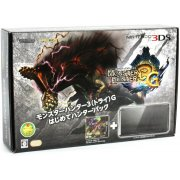Nintendo 3DS (Monster Hunter 3G Beginner Hunters Pack Black Edition)