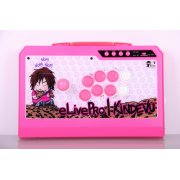 Qanba Real Arcade Fighting Joystick Q4 (3in1) (eLivePro|Kindevu Pink Limited Edition)