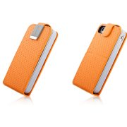 Capdase Folder Case – Upper Polka (Orange/Grey)