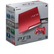 PlayStation3 Slim Console (HDD 320GB Scarlet Red Model)