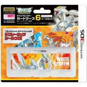 Pocket Monster Card Case 6 Seal Set for Nintendo 3DS (White Kyurem Version)