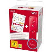 Wii Play: Motion + Wii Remote (Red)