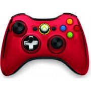 Xbox 360 Wireless Controller (Chrome Red)