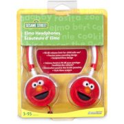 DreamGear Elmo Headphones -Red