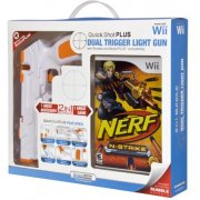DreamGear Quick Shot PLUS with Nerf N-Strike Game - White and Orange
