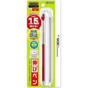 Retractable Touch Pen for 3DS LL (Red)
