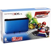 Nintendo 3DS XL (with Mario Kart 7 Blue Edition Pre-Installed)