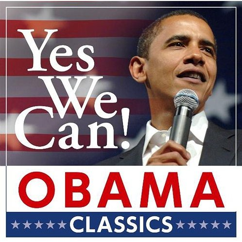 J pop yes we can obama classic for Bett yes we can