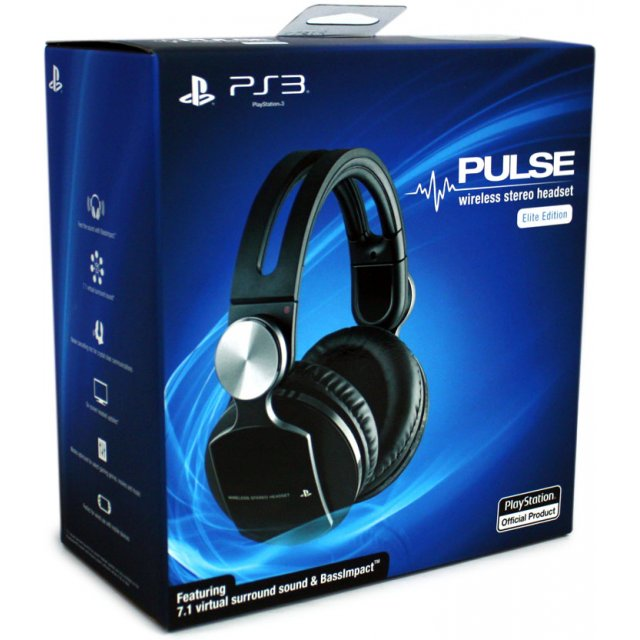 pulse elite edition wireless stereo headset manual