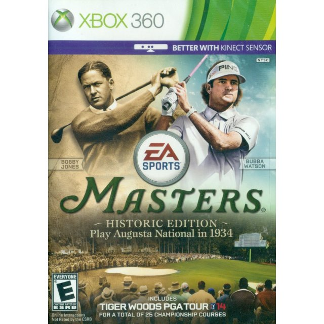 Tiger Woods PGA Tour 14 (Masters Historic Edition) for Xbox360, Kinect