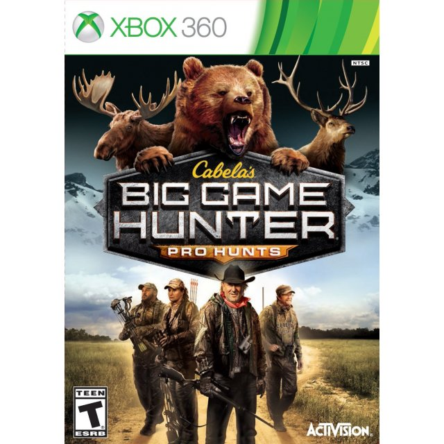 Hunting Games For Xbox 1 : Cabela s big game hunter pro hunts